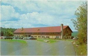 Blackwater Lodge, Blackwater Falls State Park, Davis West Virginia, WV  Chrome