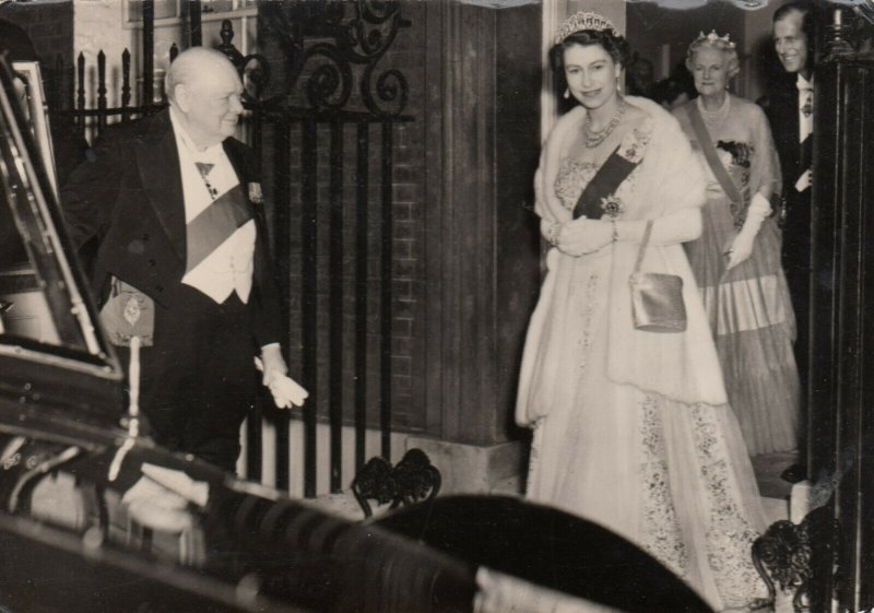 RP: Sir Winston Churchill , Royal Retirement Dinner, 1950s ; 10 Downing Street#2