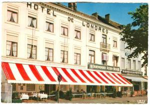 Belgium, HOTEL DE LONDERS, Restaurant Taverne, BRUGGE, 1960s unused Postcard
