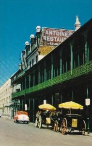Louisiana New Orleans Antoines Restaurat On Saint Louis Street