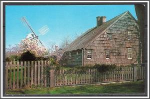 New York, Long Island Home of John Howard Payne - [NY-238]