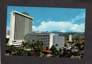 HI Sheraton Princess Kaiulani Hotel Waikiki Beach Honolulu Hawaii Postcard