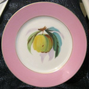 Gorgeous Decorative plate of fruit with great colours approx 8 1/2 ins wide