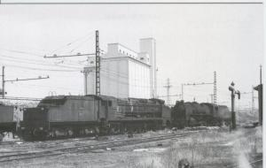 Postal 012712: Locomotora tipo Bonita y Mikado para desguace,a? 1971