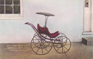 West Virginia Lewisburg Baby Carriage At The General Lewis Hotel Handcolored ...