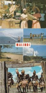 Nyanyadzi Crafts Malindi Fishing 3x African Postcard s