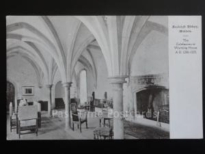 Essex: Beeleigh Abbey, Maldon UB c1903 The Calefactory or Warming House AD 1200