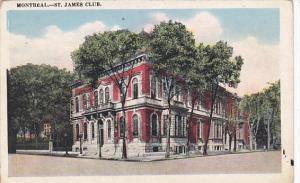 Canada St James Club Montreal Quebec