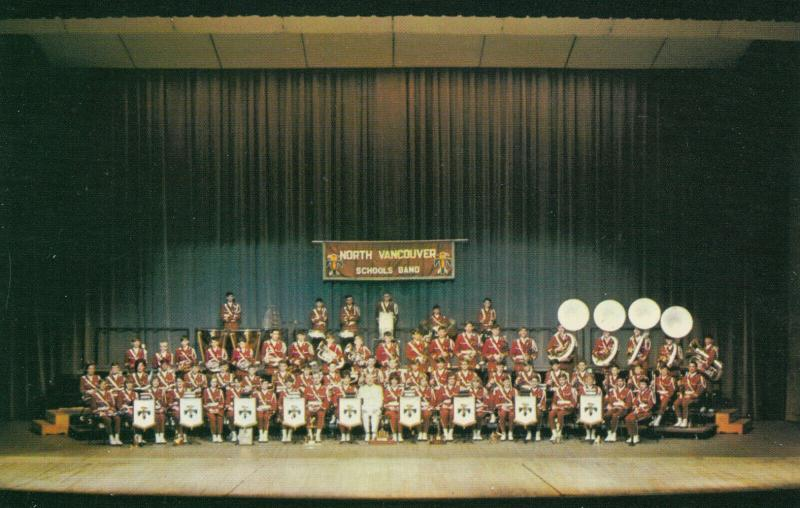 North VANCOUVER SCHOOLS Band , 1967 ; Queen Elizabeth Theatre
