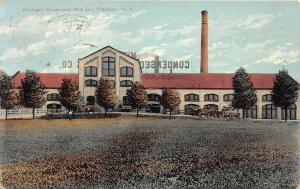 D82/ Frankfort New York NY Postcard 1912 Michigan Condensed Milk Co Factory