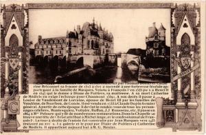 CPA CHENONCEAUX - Mon.Hist - Le Chateau... (298950)