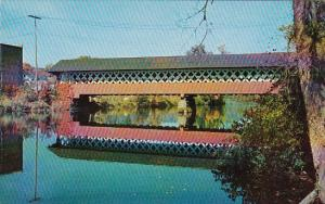 This Covered Bridge Over The Ashuelot River At West Swanzey London New Hampshire
