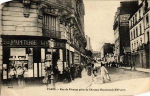 CPA Paris 12e Rue de Fécamp prise de l'Avenue Daumesnil F. Fleury (478922)