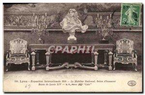 Old Postcard Lyon International Exhibition 1914 National Furniture Salon d & ...