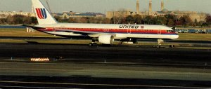 United Air LInes Boeing 757-222 At Washington National Airport