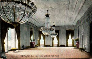 Washington D C East Room At The White House 1910