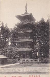 NIKKO, Japan, 1900-1910´s; Pagoda