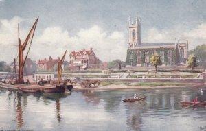 ENGLAND, 1900-1910's; Hampton On Thames, TUCK 7028