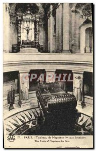 Old Postcard Paris Les Invalides Napoleon's Tomb