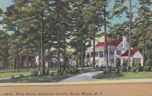 North Carolina Rocky Mount Exclusive Suburb West Haven