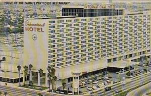 Home Of The Famous Penthouse Restaurant International Hotel Los Angeles Calif...