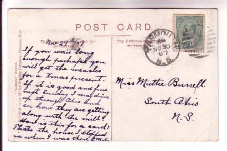American House, Main St, Middleton, Nova Scotia Acadian Series, McCoy, Cork C...