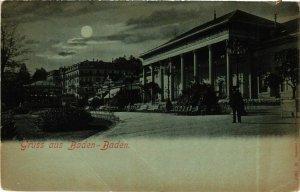 CPA AK Baden-Baden- GERMANY (889044)