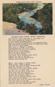 West Virginia Hawks Nest Rock