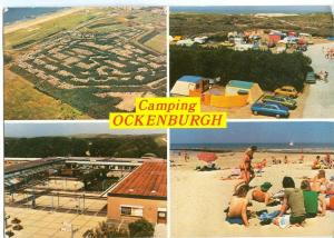 Netherlands, Camping Ockenburgh, 1981 used Postcard
