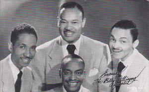 Vintage Arcade Card The Billy Williams Quartet