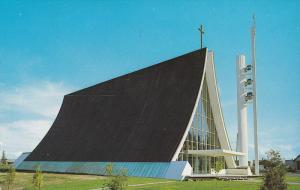 Eglise St. Raphael, Church of St. Raphael, Jonquiere, Quebec, Canada, PU-1985