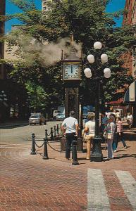 Steam Powered Clock, Colonial History, Gastown, Vancouver, British Columbia, ...