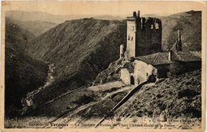 CPA AK Env. de VERNOUX La Tourette. Ruines du Vieux Chateau (661352)