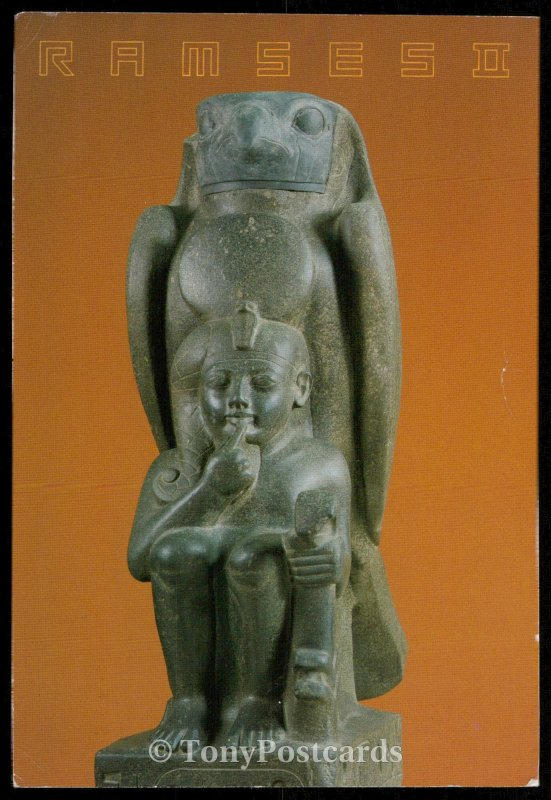 Statue of the God Hauron with the Child Ramses
