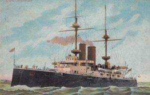 H.M.S. IRRESISTIBLE , UK Warship , 1909