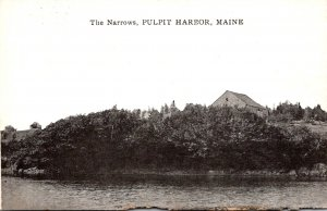 Maine Pulpit Harbor The Narrows