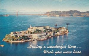 California San Francisco Alcatraz Island