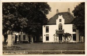 CPA Coevorden Gemeentehuis NETHERLANDS (728976)