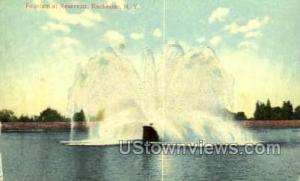 Fountain at Reservoir Rochester NY Unused