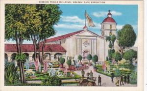 California San Francisco Mission Trails Building Golden Gate Exposition