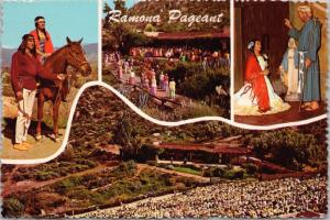 Ramona Outdoor Pageant San Jacinto CA California c1973 Vintage Postcard D51
