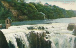 Rochester, New York - Lower Falls of the Genesee River - pm 1910 - DB