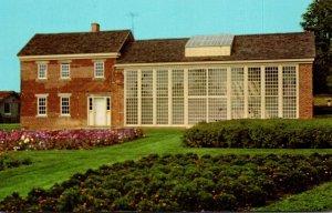 Ohio Zoar Greenhouse and Gardner's House Zoar Village