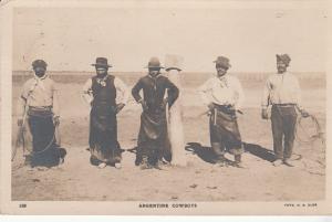 Argentine Cowboys 1929