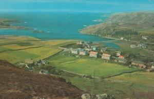 Scourie Sutherland Aerial 1970s Postcard