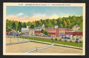 Recreation Center Tennis Courts Businesses Saluda North Carolina Unused c1930s