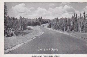 Wisconsin Marion The Road North Andersons Fisher Lake Lodge