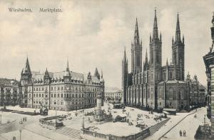 Germany Wiesbaden Marktplatz 02.62