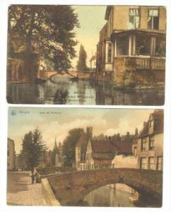 2 PC LOT, Homes On Waterway, Bruges, 00-10s