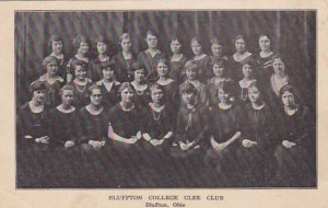 BLUFFTON , Ohio , PMC 1898 ; College Glee Club